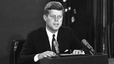 U.S. President John F. Kennedy in Washington