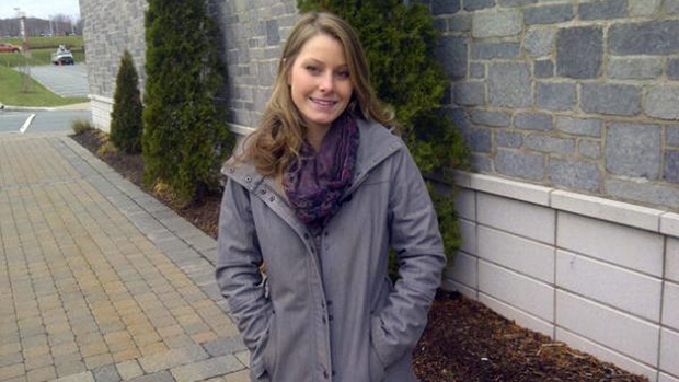 This 23-year-old Elizabeth Gallagher from Cole Harbour, N.S., was chosen to accompany a Toronto man on a free trip around the world.