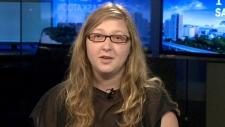 Jennifer Nowoselski of the Dalhousie Student Union
