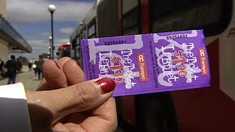 Ottawa is looking to increase the price of its bus tickets.