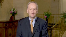 Former prime minister Jean Chretien speaks to Canada AM, Tuesday, April 17, 2012.