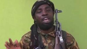Boko Haram leader Abubakar Shekau in a May 12, 2014 photo. (AP / File)