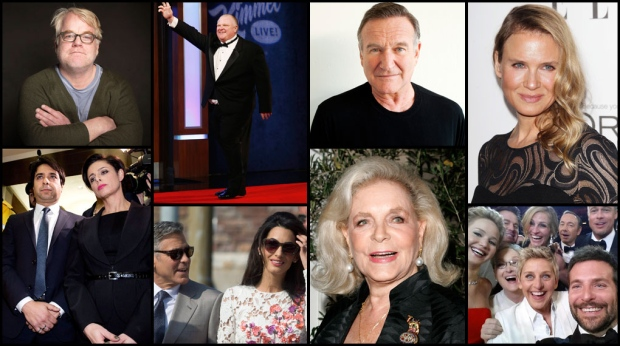 <b>That&#39;s a wrap: Top Hollywood stories of 2014<br><br>From the tragic loss of beloved actors, to celebrity weddings, selfies and scandals, CTVNews.ca takes a look at the top entertainment stories that grabbed headlines and captivated audiences around the world.