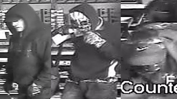 Calgary Police are looking for a group of four men who broke into a locksmthing company between December 13 and 14 and stole about $70,000 worth of equipment used to make vehicle and vendine machine keys.