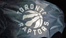 The Toronto Raptors' new logo is seen in this YouTube screengrab (Toronto Raptors/YouTube)