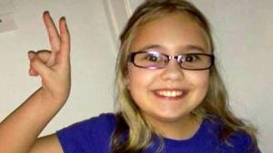 Alyssa Sippley, 9, of Baie-Sainte-Anne, N.B, is shown in an undated photo.