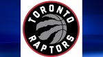 The Toronto Raptors have unveiled a sleek new logo that's a silver basketball, ripped by dinosaur claw marks, inside a red circle. (The Toronto Raptors)