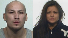 Ryan James Varley and Kristin Marie Lerat are seen in these photos provided by Regina police.