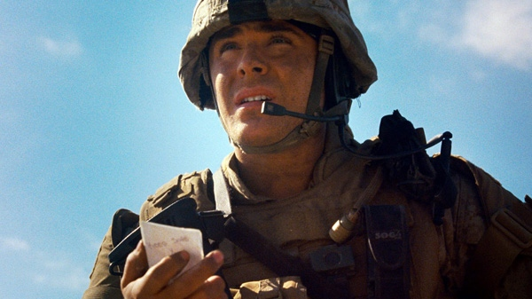 Zac Efron in a scene from Warner Bros. 'The Lucky One.'