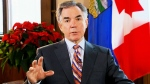 Alberta Premier Jim Prentice appears on CTV's Question Period on Sunday, Dec. 21, 2014.