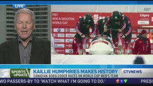 CTV News Channel: Humphries making her mark