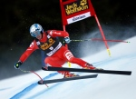 Italy's Werner Heel competes in an alpine ski, men's World Cup Super-G in Val Gardena, Italy, Saturday, Dec. 20, 2014. (AP Photo/Marco Trovati)
