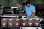 In this Oct. 22, 2010, file photo, a worker checks the production of Havana Club rum at the company's factory in Havana, Cuba. (AP Photo/Franklin Reyes, File)
