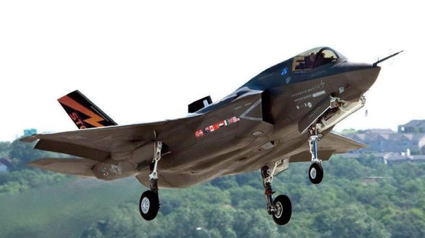 A Lockheed Martin F-35 Joint Strike Fighter is shown in this undated handout photo. (Lockheed Martin / THE CANADIAN PRESS)