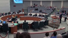 Details of a potential arena in Markham were discussed at a meeting on Friday, April 20, 2012.
