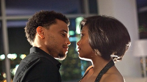 Michael Ealy and Taraji P. Henson in Screen Gems' 'Think Like a Man.'
