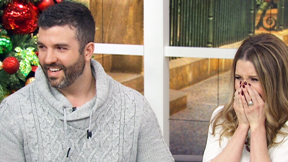 Darren and Desiree Lamoureux on Canada AM