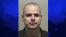 Gerald Lee O'Neill, 32, is seen in this photo released by the Woodstock Police Service.