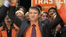 New Democrat Joe Trasolini was elected MLA in Port Moody-Coquitlam after winning more than half of the byelection�s votes. April 19, 2012. (CTV)