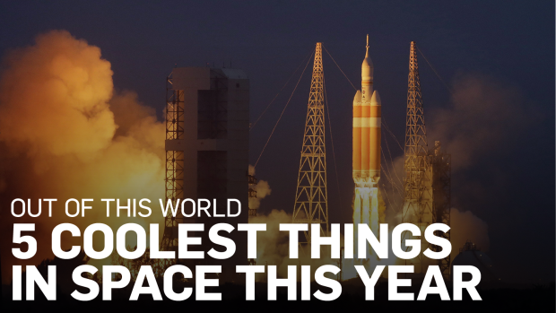 Out of This World: 5 coolest things in space this