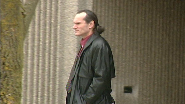 Roman Cisar is seen outside the provincial courthouse in Kitchener, Ont. on Thursday, Feb. 2, 2012.