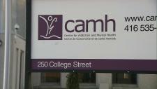 CAMH sign