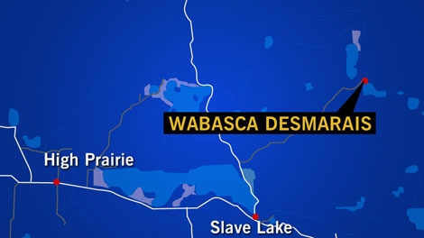The Wabasca Townsite is in northern Alberta.