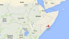 Mogadishu map