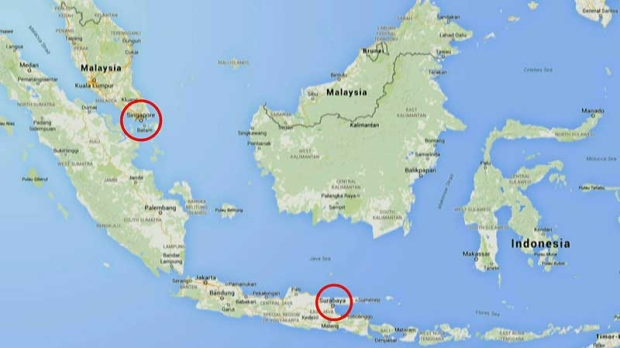 Airasia Routes Map Airasia Plane Map Route