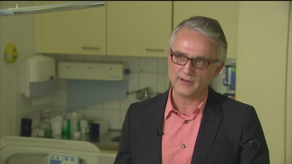 "Dr. Paul-Peter Tak is supervising the research on implantable devices.  ""It's very appealing to patients because they don't like to take medicines for 30 to 40 years of their lives."""