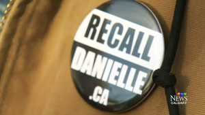 Volunteers are going door-to-door to circulate 'Recall Danielle' petitions after Danielle Smith left the Wildrose Party.