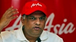 AirAsia's Chief Executive Tony Fernandes gestures during a press conference in New Delhi, India, Wednesday, July 3, 2013. Fernandes said that the budget airline's new joint venture in India will begin domestic flights in October to underserved Chennai, Bangalore and Cochin cities in the south.(AP/Tsering Topgyal)