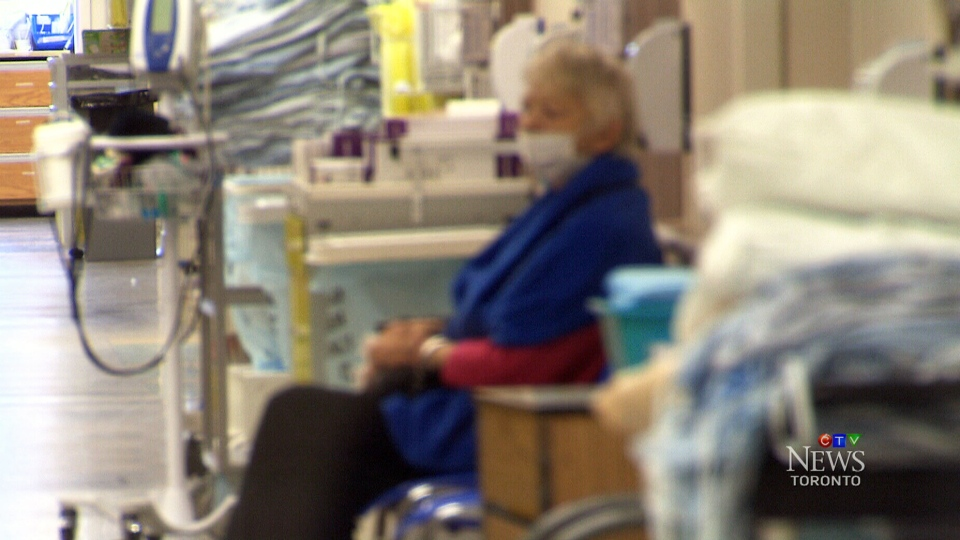 Emergency rooms in Ontario are filling up fast with people reporting flu-like systems. At one Toronto-area hospital, ER visits are 40-per-cent higher than normal.