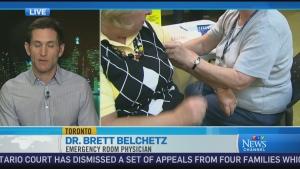 CTV News Channel: Flu shot has been less effective