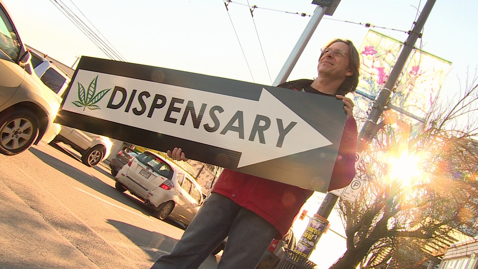 Erbachay Health Centre owner Darcy Delainey says he wants his dispensary to feel as mainstream as possible. Dec. 29, 2014. (CTV)
