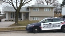 Police continued to block off a home on Rouse Avenue in Cambridge on Tuesday, Dec. 30, 2014, one day after Linda Sauve was found dead inside.