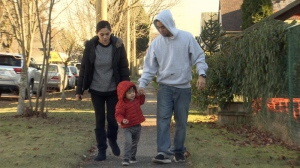 Honorato Peralta and Vanessa Tamondong have been working in Canada since 2009 under the temporary foreign worker program but now face deportation over a consultant's paperwork error. Dec. 30, 2014. (CTV)
