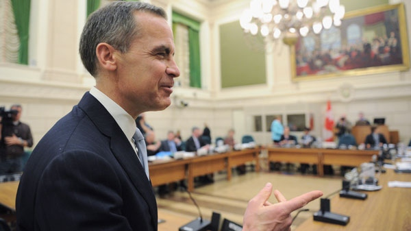 Bank of Canada governor Mark Carney appears at a Commons finance committee on Parliament Hill in Ottawa on Tuesday, April 24, 2012. (Sean Kilpatrick / THE CANADIAN PRESS)