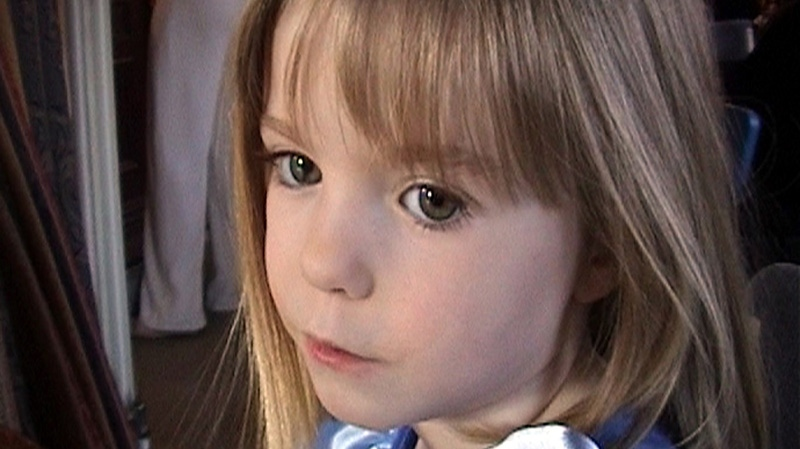 3-year-old British girl Madeleine McCann is seen in this photo on Friday, May 4, 2007 released by the McCann Family.