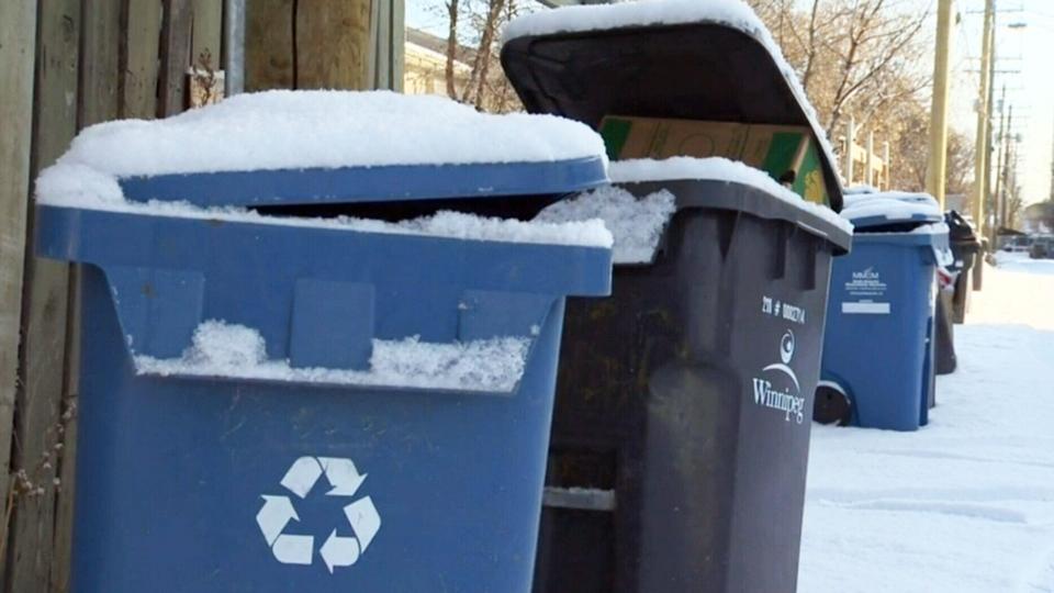 Winnipeg baby left in recycling bin; teen charged