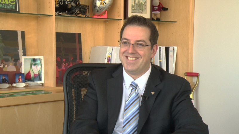 Cam Guthrie, mayor of Guelph