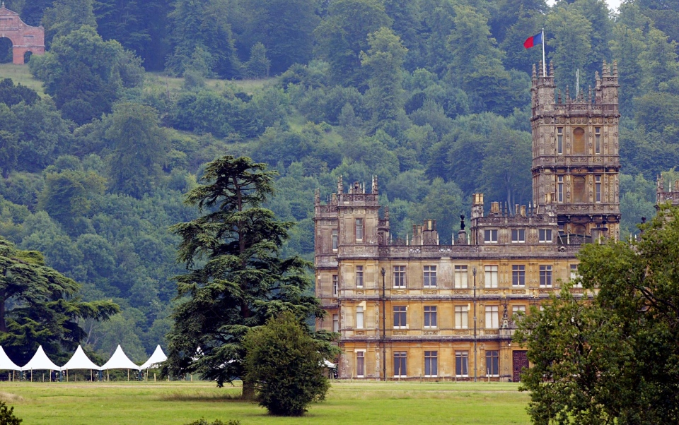 Highclere Castle, the signature setting of 'Downton Abbey.' (AP / Jack Sharp)