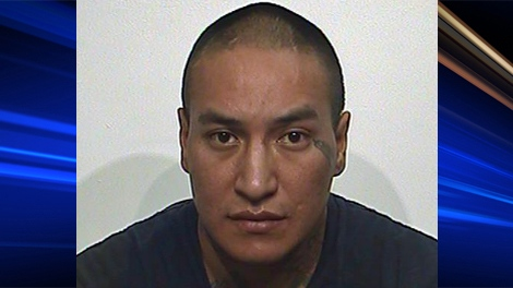 Anthony Joseph Slippery is seen in this photo provided by Regina police.