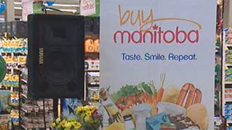 The 'Buy Manitoba' signs will indicate that ingredients are at least 85 per cent locally sourced.