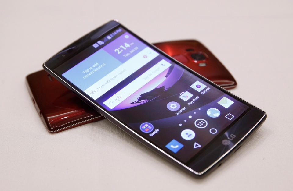 LG steps up specs with G Flex 2 phone