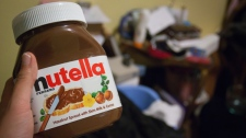 nutella; chocolate spread