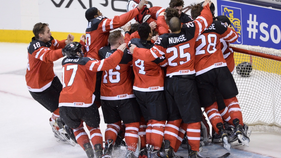 Team Canada wins gold medal