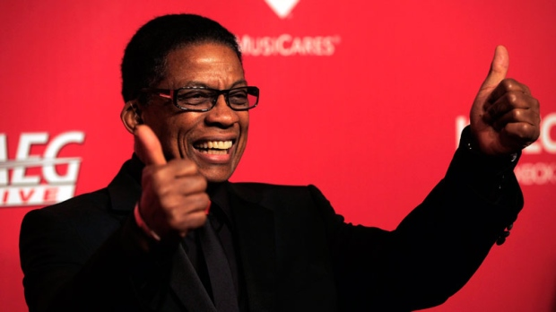 Herbie Hancock arrives at the MusiCares Person of the Year gala honoring Paul McCartney on Friday, Feb. 10, 2012 in Los Angeles. (AP Photo/Chris Pizzello)