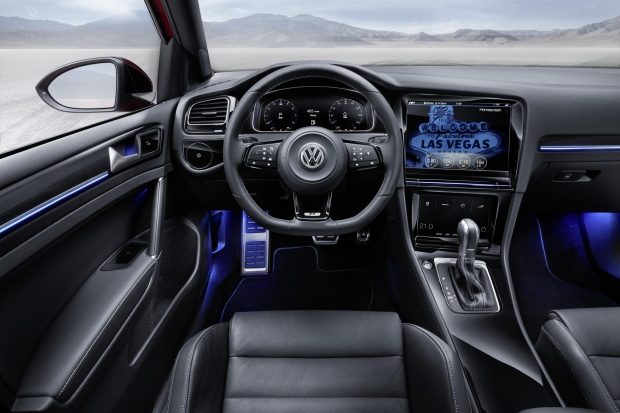 VW dashboard
