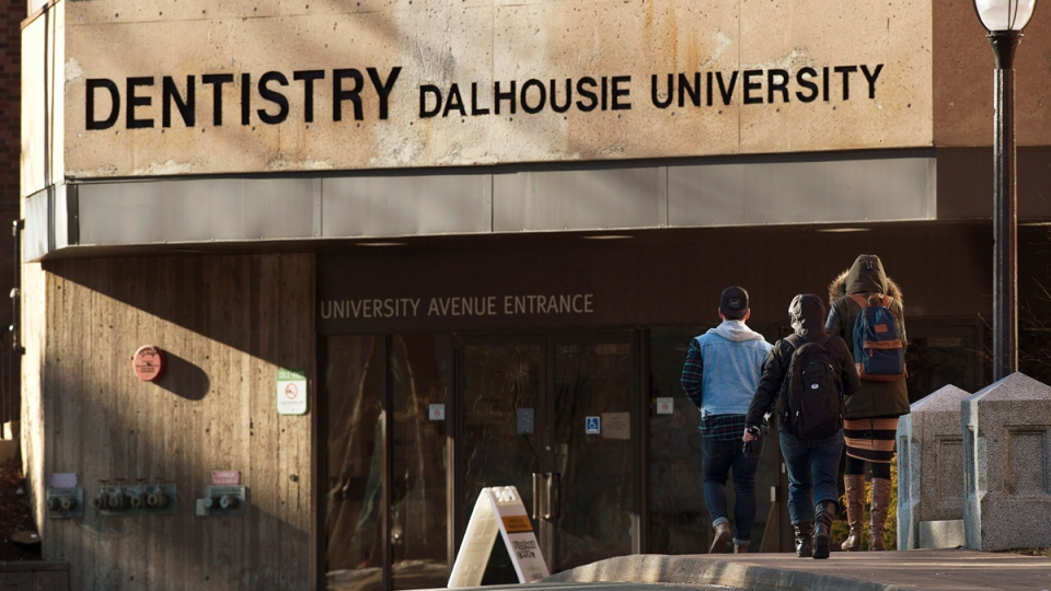 Dalhousie University dentistry building in Halifax